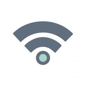 Illustration of signal icon